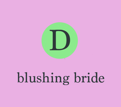 Fragrance Personality – Blushing Bride