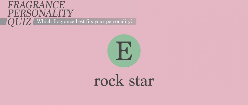 Fragrance Personality – Rock Star