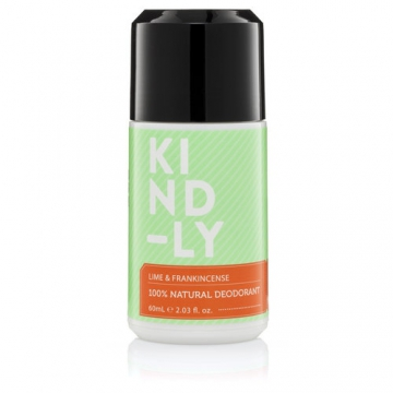 Lime and Frankincense 100% Natural Deodorant 60ml