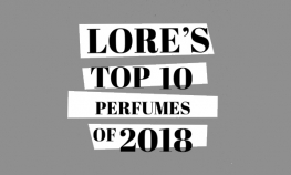 Our Top 10 Perfumes of 2018