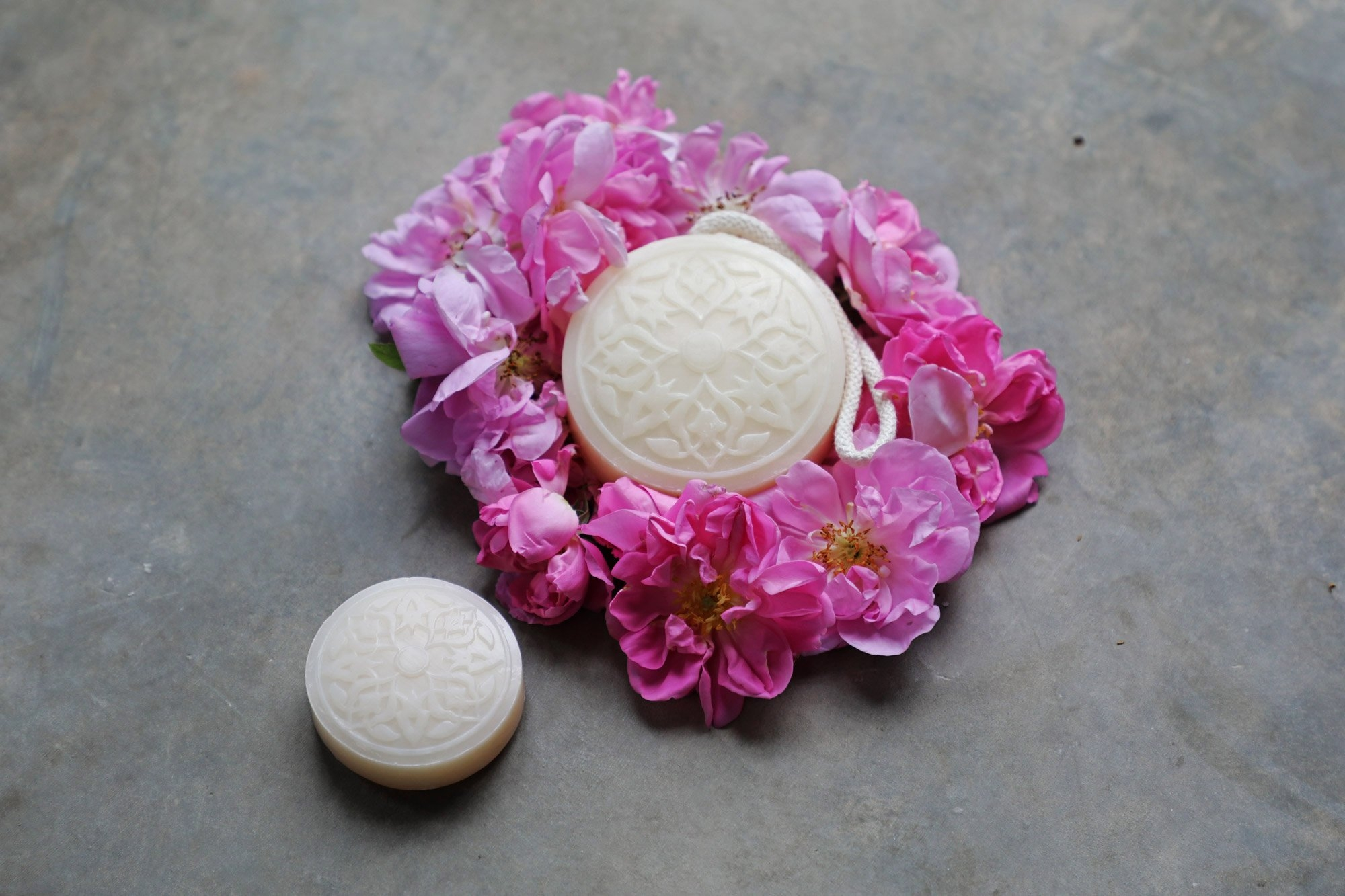 Maamoul Soap Rose of Damascus