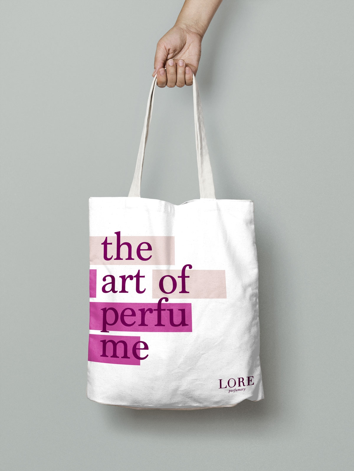 Tote Bag - The Art of Perfume