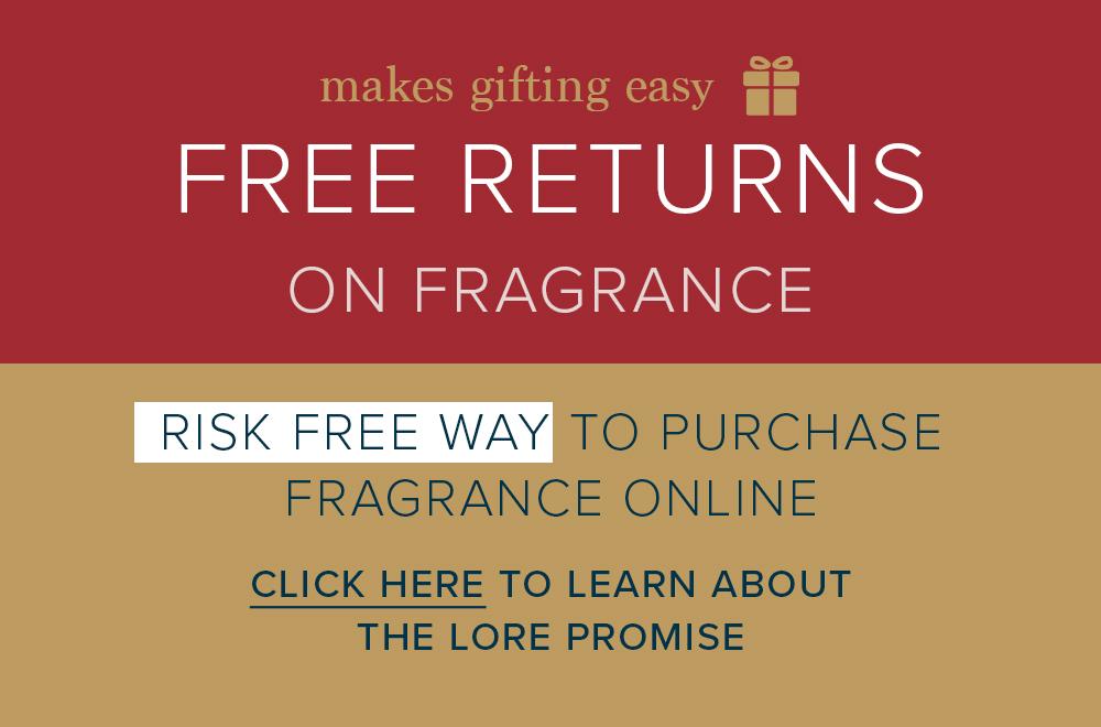 free returns on perfume
